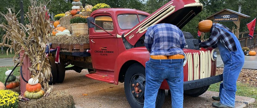 October News from Cross Creek Clays
